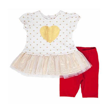 Torio Joyful Heart Legging Set