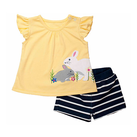 Torio Yellow Garden Casual Set