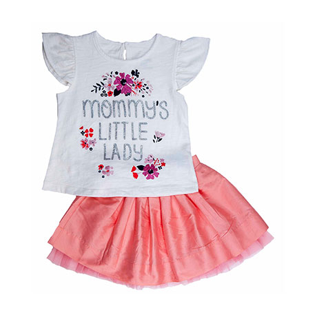 Torio Mommy's Little Lady Skirt Set